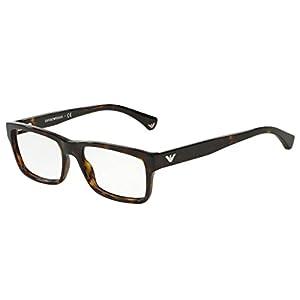 Emporio Armani EA 3050F Men's Eyeglasses Havana 55