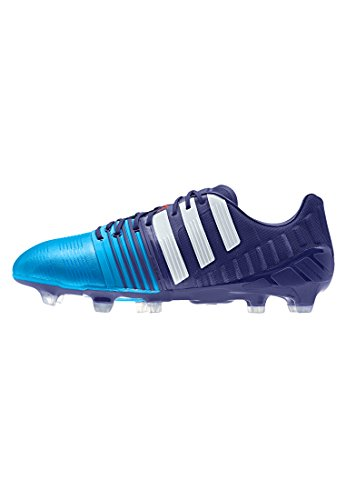 adidas Performance - Nitrocharge 1.0 FG, Scarpe da Calcio da Uomo Amazon purple f14/ftwr bianco/solar blue2 s14