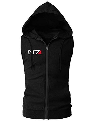 LeathersWear Mass Effect N7 Men's Vest Hoodie