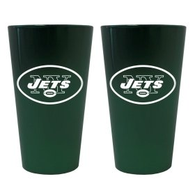 (New York Jets Lusterware Pint Glass - Set Of 2)