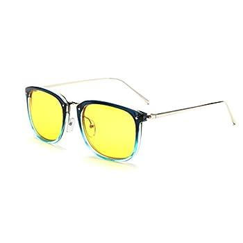 Simvey Metal Retro Designer Advanced Computer Eyewear Anti Blue-Light Glasses UV Protection Full Rim Computer Glasses