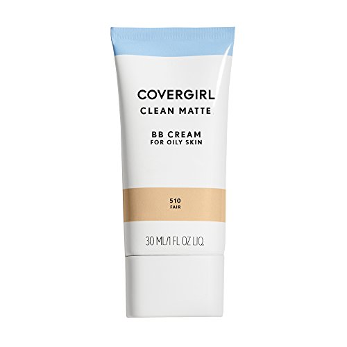 COVERGIRL Clean Matte BB Cream Fair 510 For Oily Skin, 1 oz (packaging may vary)