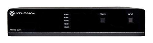 Atlona AT-UHD-SW-51 4K/UHD 5