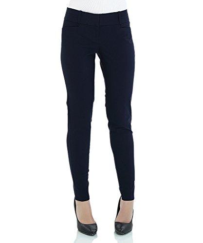 Womens Navy Blue Pants - 9
