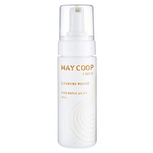Mild Cleansing Mousse - Maycoop Raw Cleansing Mousse 150ml/5.07fl.oz Sweet Bubble Hypoallergenic Moisturizing Maple Water Sap Pore Cleanser Makeup Remover