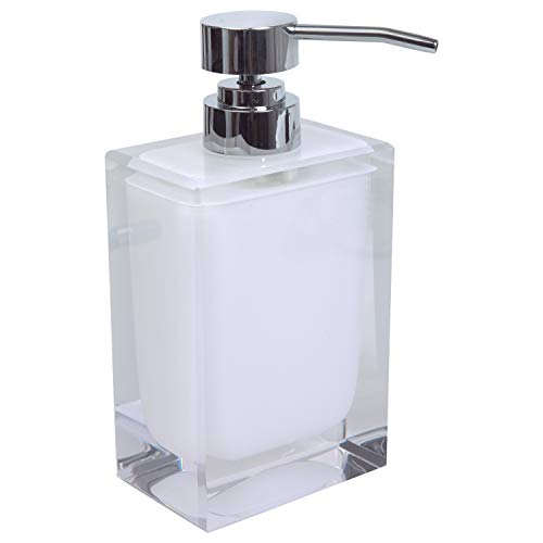 Bath Bliss Soap Dispenser White White