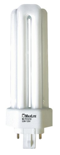 Maxlite 16431 - MLTE32/41 Triple Tube 4 Pin Base Compact Fluorescent Light -
