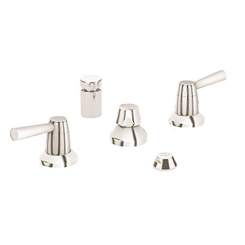 Grohe K24015-18083-EN0 Arden Bidet Fitting Kit, Brushed Nickel