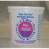 E-Z Mix EMX-70165L 5-Quart Plastic Mixing Cup Lids, Box Of 25