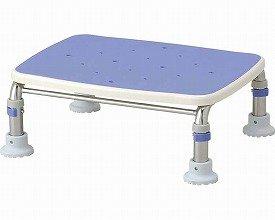安寿 ステンレス製浴槽台R あしぴた 標準 すべり止めシートタイプ17.5-25 ブルー 536-449 (アロン化成) (返品不可) B07DN5LCY7