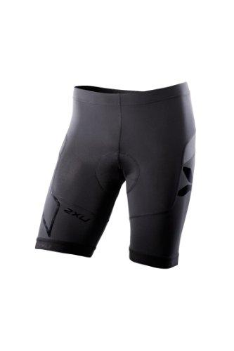 2XU Men's Compression Cycle Short, Black, Small (2xu Compression Cycle Short)
