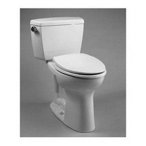 (Toto Toilets Drake 2 Piece Toilet Tank & Bowl (elongated, G-max) - Cotton (contains C744e#01 + St743s#01))