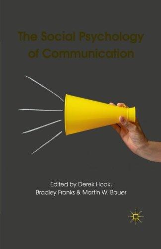 The Social Psychology of Communication