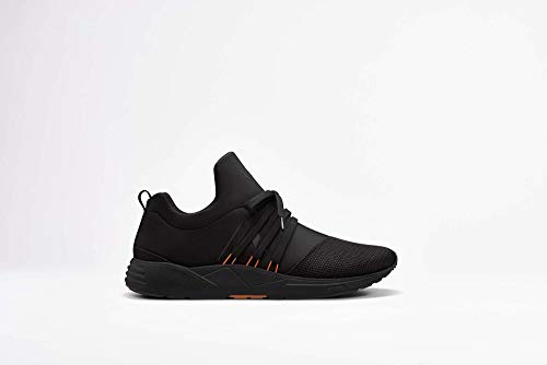 ARKK Copenhagen Men Sneakers Raven Mesh S-E15 Black Orange