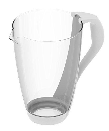 PearlCo Glas-Wasserfilter (weiß)- Ersatzkanne ohne Zubehör by PearlCo