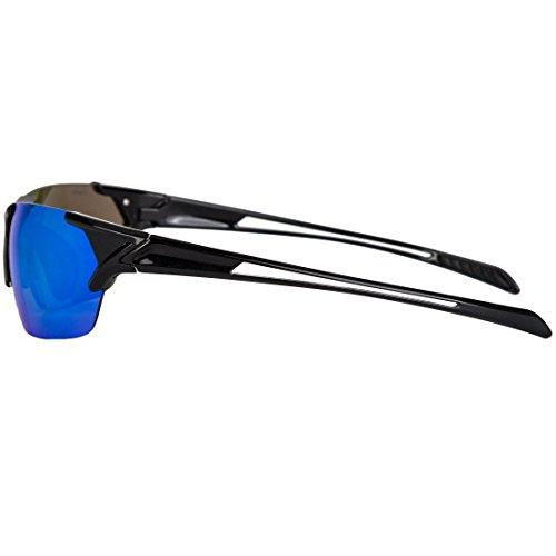 fe8d926609 LVXING1 Shieldo Polarized Sports Sunglasses for Men and Women Running  Cycling Fishing