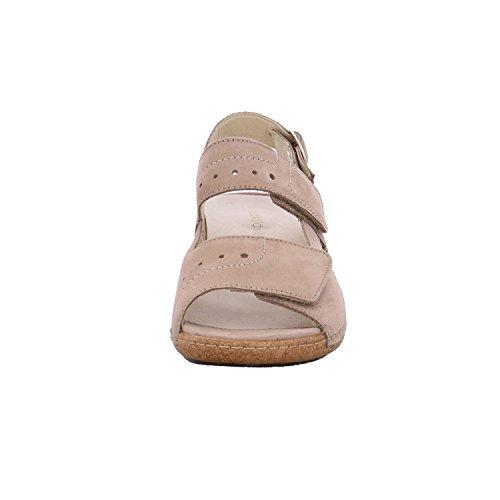 Waldläufer Denver 342011 191 094 Damen Komfort Sandalette Grau