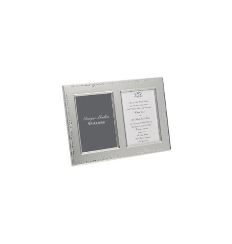 Designers Waterford Crystal - Waterford Monique Lhuillier Modern Love Double Invitation Frame