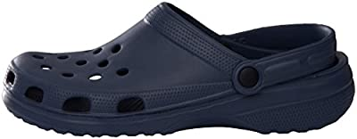 Sunville Men's Perforated Garden Clog Shoes