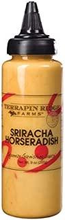 product image for Sriracha Horseradish Garnishing Sauce by Terrapin Ridge Farms – One 9 oz Squeeze Bottle