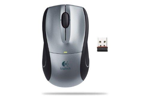 Logitech V450 Nano Cordless Laser Mouse for Notebooks (Silver) by Logitech (Image #1)