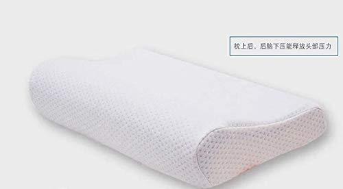 NOTE 30×50センチメモリ泡整形外科睡眠青い冷却ゲルベッドメモリ綿ヒドロゲルネックハイエンド枕クッション B07R5G19K8