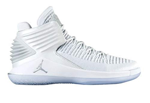 buy popular 15b24 5d07a Galleon - NIKE Men s Air Jordan XXXII Mid Basketball Shoes Pure Platinum  Size 11.5