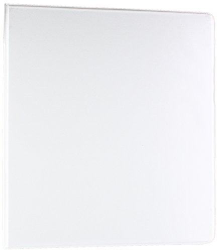Business Source 1-Inch Standard Presentation Binder - White (09981) ()