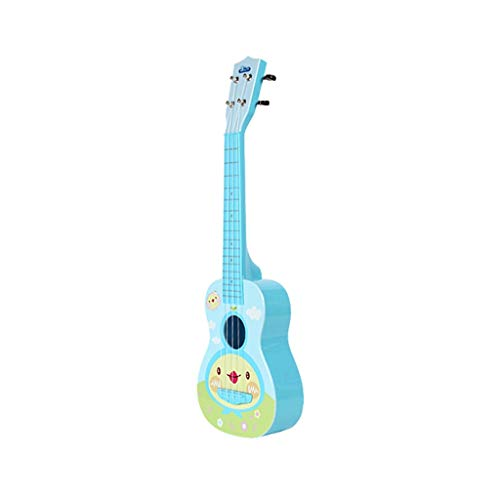 - Transer- Ukulele Guitar Toy, Classical Educational Musical Instrument Toys for Beginner of Kids Boys Girls Age 4+, 19 Inches (Blue, Large)
