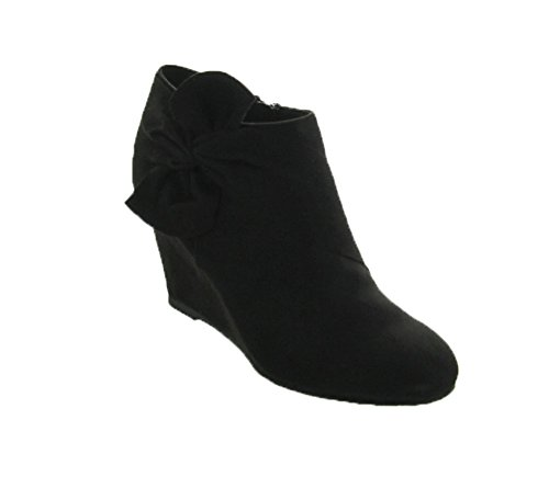 CL by Chinese Laundry Women's Vivid Ankle Bootie, Black Suede, 7.5 M US