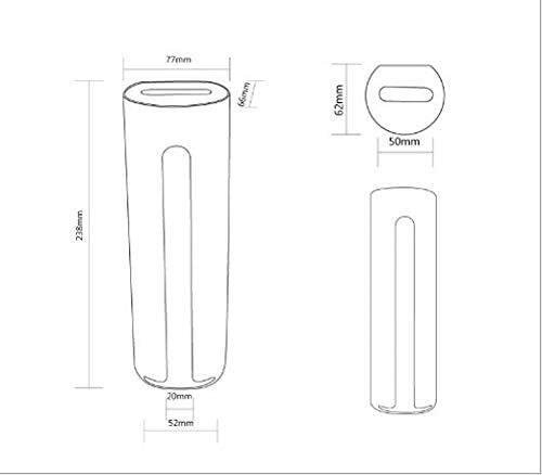 Hila/ï Cosm/étique de stockage de support de fixation murale cotons distributeur avec des ouvertures