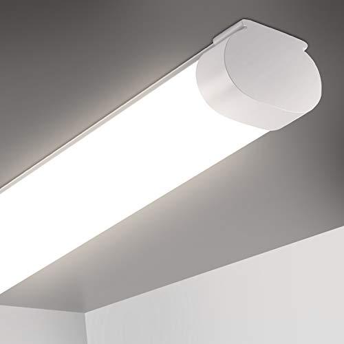 Oeegoo Ledlamp voor vochtige ruimtes, 150 cm, 51 W, 5100 lumen, 100 lumen, voor badkamer, garage, kelder, magazijnhuis…