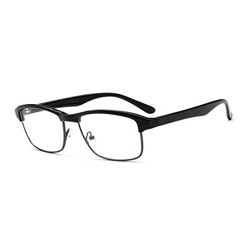 dking-designer-horned-rim-rectangular-eyeglasses-frame-clear-lens-eye-glasses-black