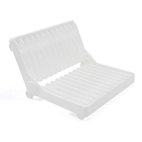 Kaendi 12 Slots Designed Dish rack Dishes Drainer Set Plasti