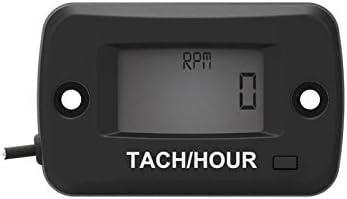 Digital LCD Gasómetro Tacómetro/Horas Motosierra Medidor de horas Tacómetro de motocicleta para paramotores, ultraligeros, motores marinos - Bombas para interiores y exteriores Bombas, generadores