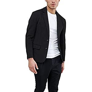 Daupanzees Mens Casual Two Button Suits Lapel Blazer Jacket Lightweight Sport Coat