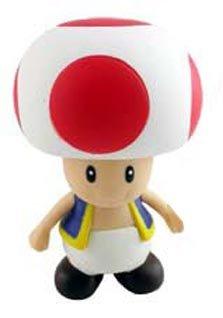 amazon com super mario brother pvc 4 figure toad by banpresto