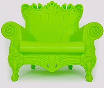Poltrona Little Queen Of Love.Little Queen Of Love Throne Armchair Pure Green Amazon Co