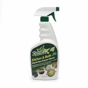 ZymeAway Kitchen & Bath Total Surface Enzyme Cleaner, Spray, 32 fl oz
