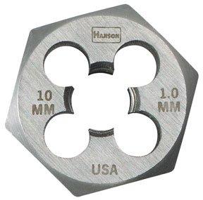 High Carbon Steel Metric Hexagon Dies - die 16mm-2.0 1-7/16 hexhanson by Irwin Tools