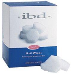 Esmalte de uñas libre de la pelusa tubo de toallitas de limpieza X 80 libre de