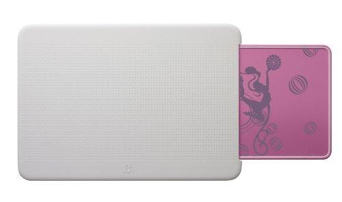 Logitech N315 Tragbarer Lapdesk Pink Balance (Fantasy Collection)