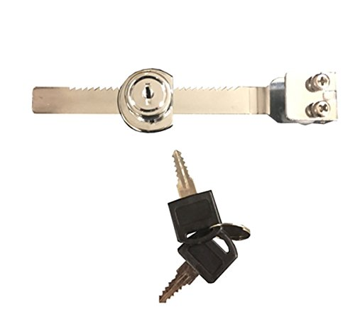 Showcase Display Ratchet Lock Set Double Sliding Doors Chrome KEYED ALIKE Lot of 39 NEW by Unknown