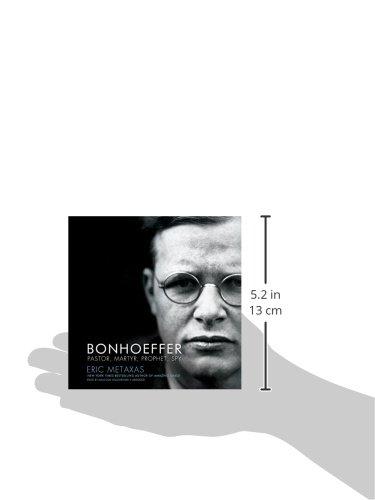Bonhoeffer: Pastor, Martyr, Prophet, Spy; A Righteous Gentile vs. The Third Reich (ABRIDGED EDITION) by Blackstone Audio, Inc. (Image #1)