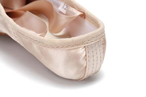 c0c33ca8a4f5 WENDYWU Professional Ballet Slipper Dance Shoe Pink Ballet Pointe ...