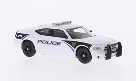 Dodge Charger Police Police Us Model Car Ready Made Ricko 1 87 Spielzeug