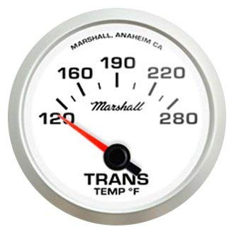 Marshall Instruments - Comp II LED Series 2-1/16'' Transmission Temperature Gauge, 120-280 F by Marshall Instruments