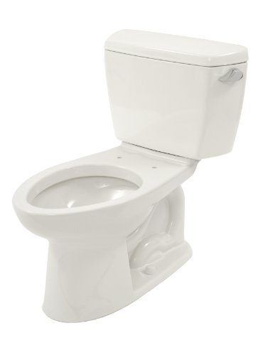 TOTO CST744SLR#01 Drake 2-Piece Ada Toilet with Elongated Bo