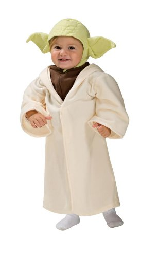 Baby Star Wars Yoda Costume Size Newborn to 6 Months (Alien Baby Costume)
