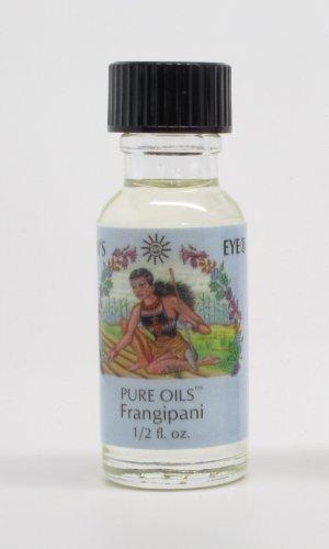 Frangipani - Sun's Eye Pure Oils - 1/2 Ounce Bottle by Sun's Eye Pure Oils (Perfume Oil Suns Eye)